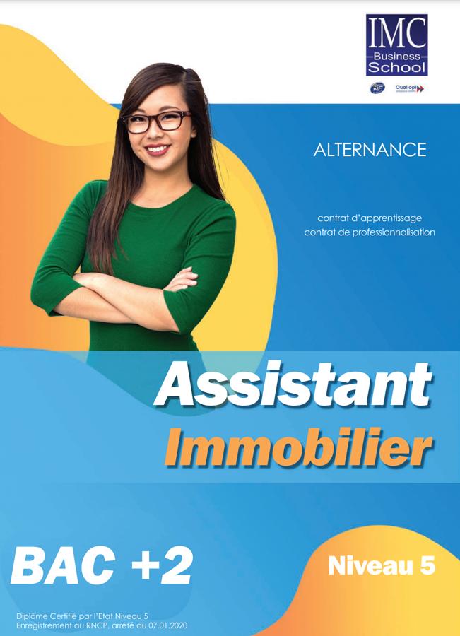 assistant immobilier cése